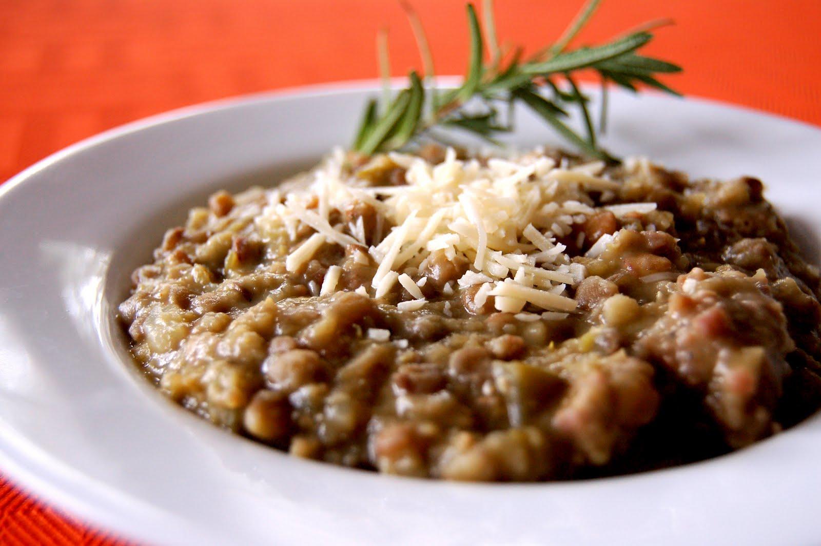 Sage Sausage & Garlic Lentil Soup | The Perfect Bite
