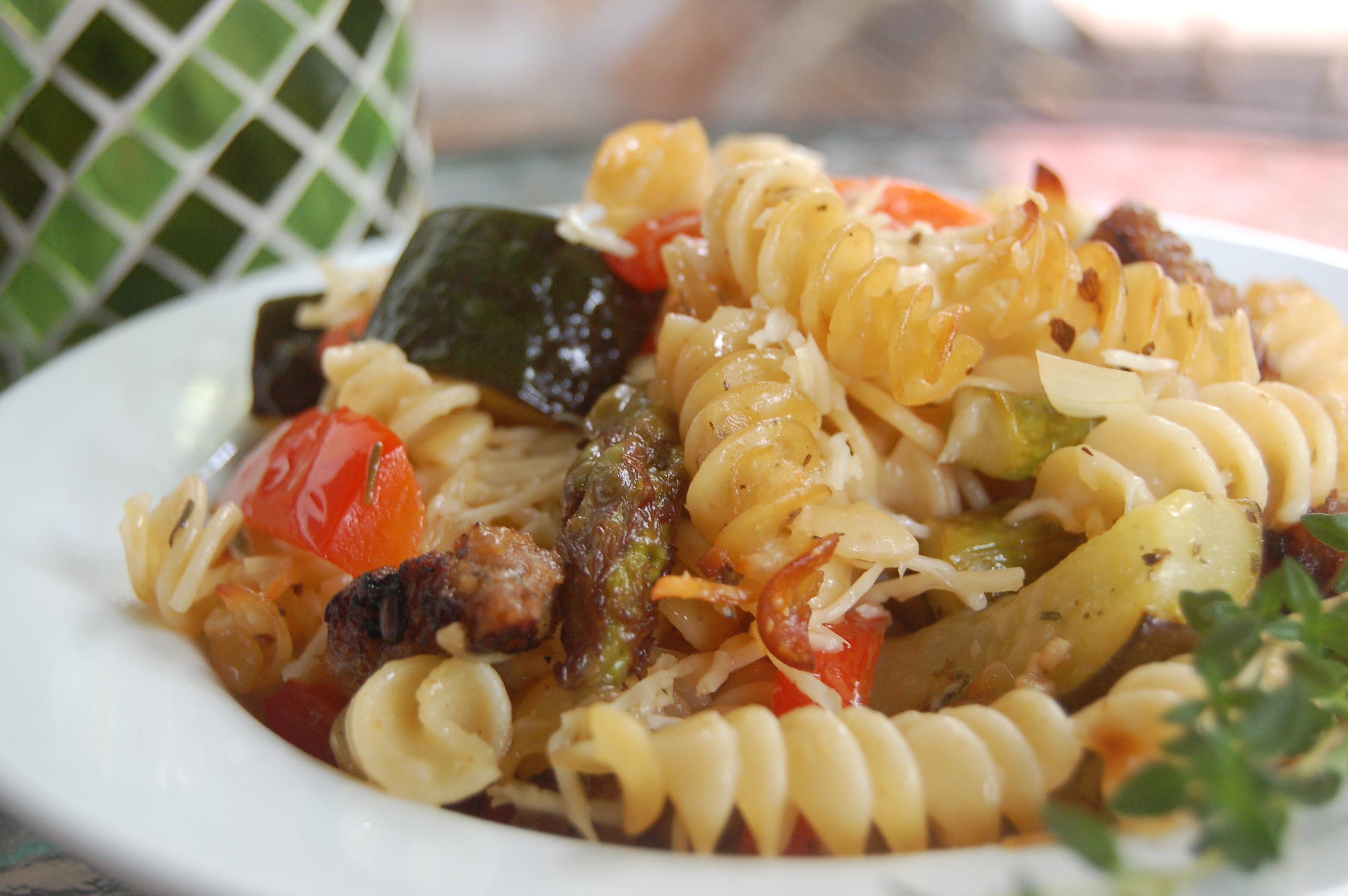 Garden Vegetable Pasta Bake | The Perfect Bite