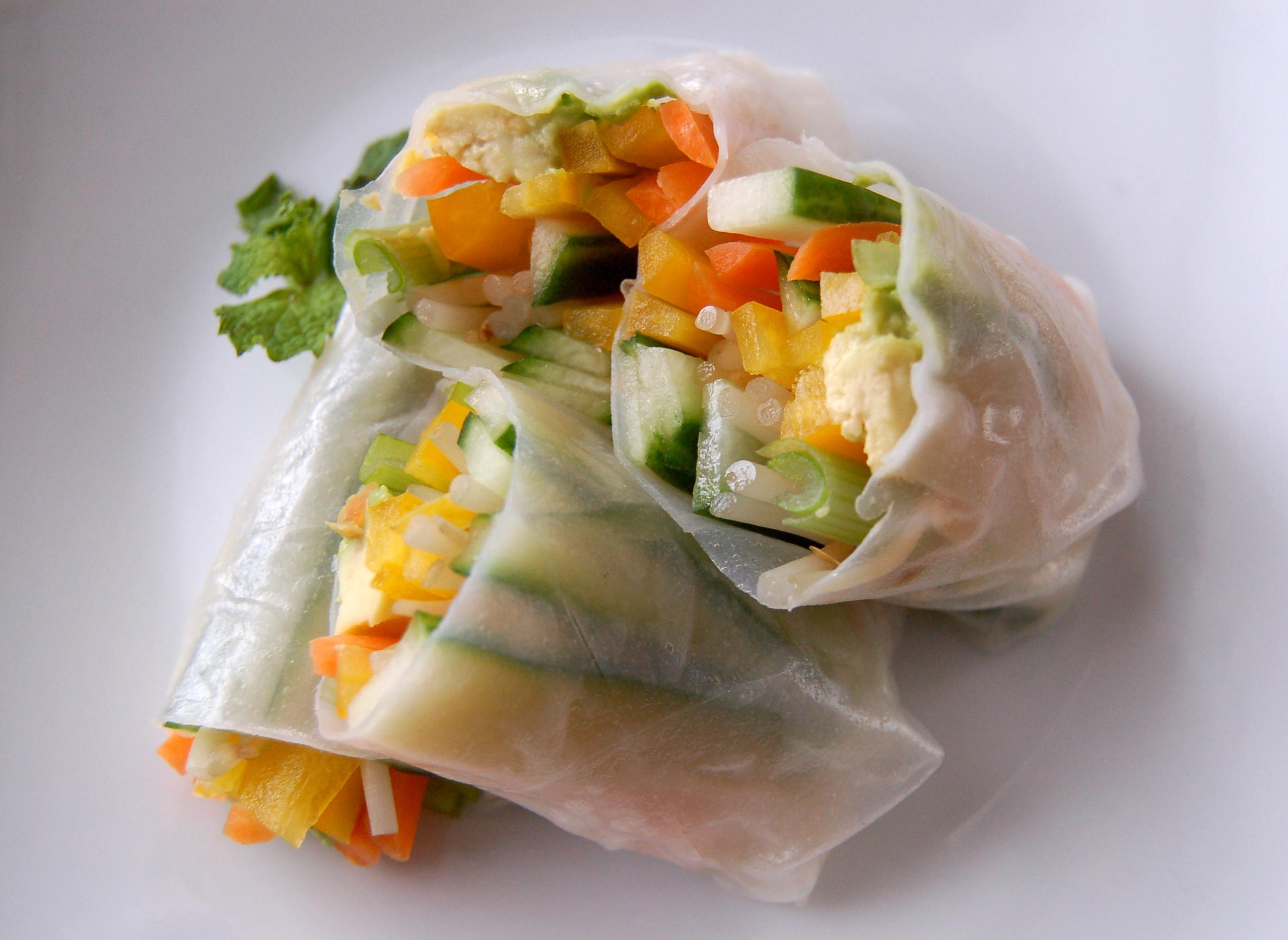 Vegetable Spring Roll Vegetarian Spri...