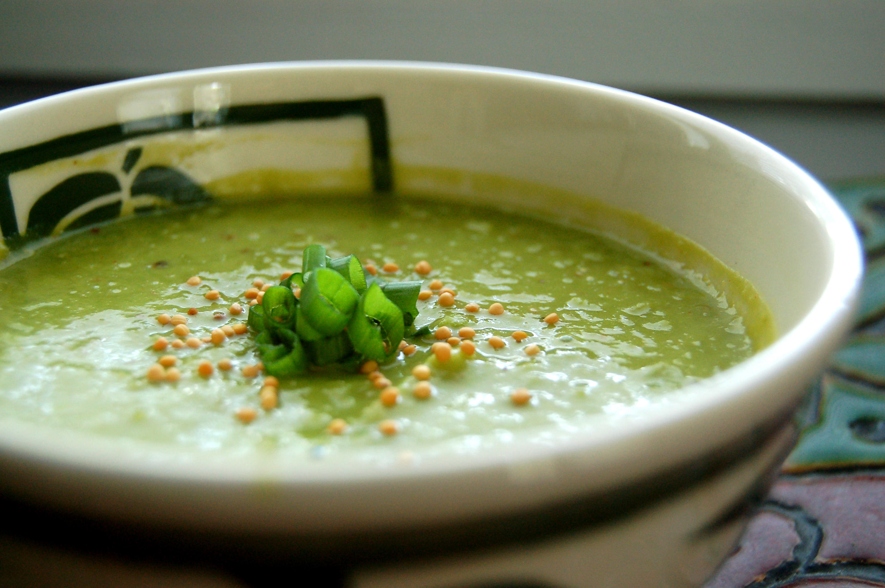 Summer Pea Soup with Green Curry and Toasted Mustards Seeds | The ...