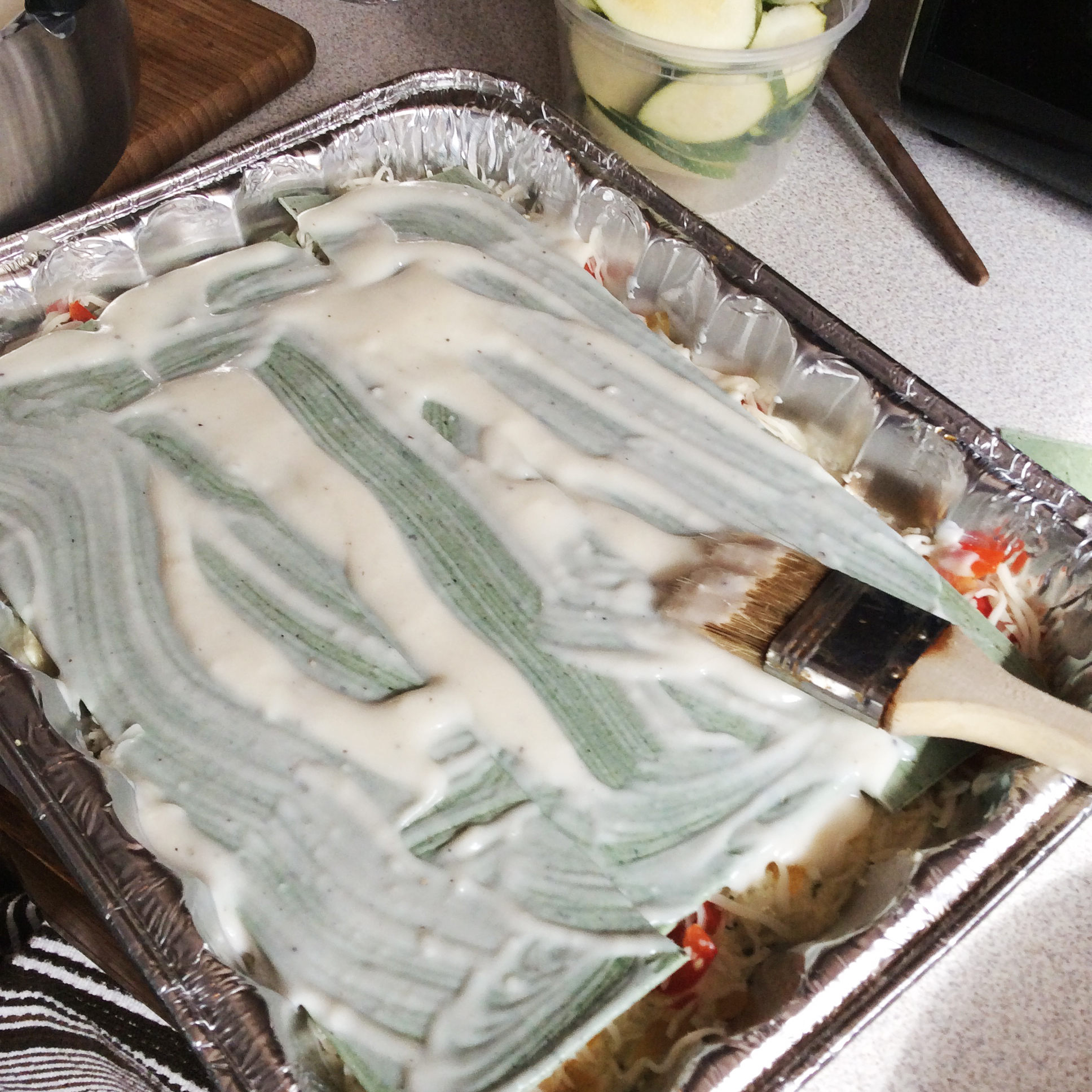 Vegetable Lasagna with Homemade Ricotta and Béchamel Sauce   The ...